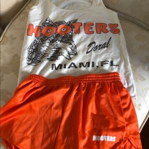 Vintage authentic Hooters outfit